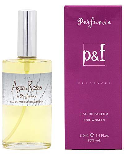 AGUA de ROSAS de Perfumia, Eau de Parfum para mujer, Vaporizador (50 ml)