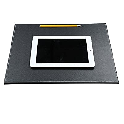 KINGFOM Desk Mat & Mate A3/A4/A5 Desk Pad, Protector Mouse Pad PU Leather for Desktops and Laptops
