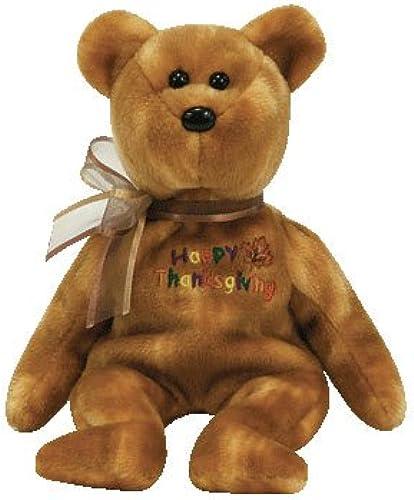 precios mas bajos TY Beanie Baby - GRATEFULLY GRATEFULLY GRATEFULLY the Thanksgiving Bear by Ty  100% garantía genuina de contador