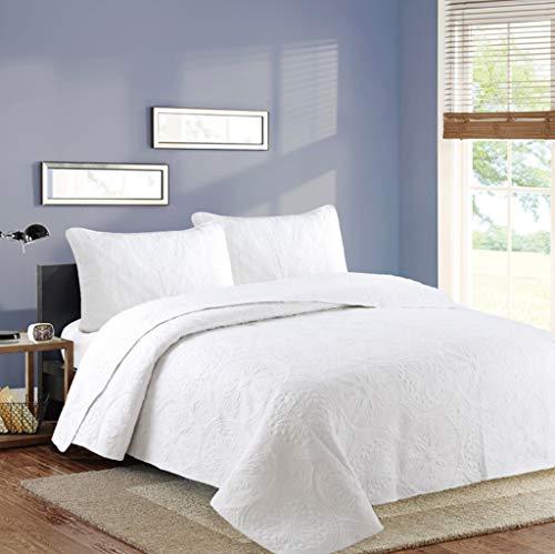 Orumrud Tagesdecke Bettüberwurf 230x250cm 250x270cm für Doppelbett Gesteppt Steppdecke Patchwork Bettdecke aus Mikrofaser mit Ultraschall genäht, Stepp Decke für Bett