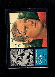 john david crow autograph