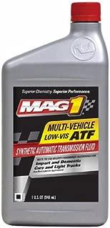 Mag 1 64092-6PK Multi-Vehicle Low Viscosity Automatic Transmission Fluid - 32 oz., (Pack of 6)