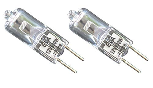 2pcs EVA 12V 100W Donar Bulb for Olympus Microscope 8C406 AHMT AHS AHT AHTM AHX AX80 B-LSH B-LSH BH-RFL BHS BHSM BHSM-IR BX51WI IX70 IX71 IX81 PMG3 - Zeiss Microscope 3800799540 Philips 25676-8 7724