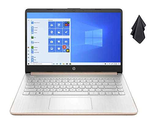 2021 Newest HP 14-inch HD Non-Touch Laptop, Intel 2-Core N4020 up to 2.8 GHz, 4 GB RAM, 64...