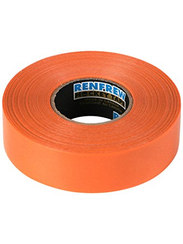 Renfrew Farbiges Polyflex Schienbein-/Socken-Hockey-Tape (Orange)