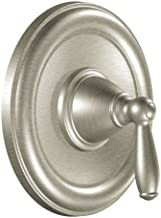 Moen T2151BN Brantford Posi-Temp Pressure Balancing Traditional Tub and Shower Valve Trim Kit Valve Required, Brushed Nickel