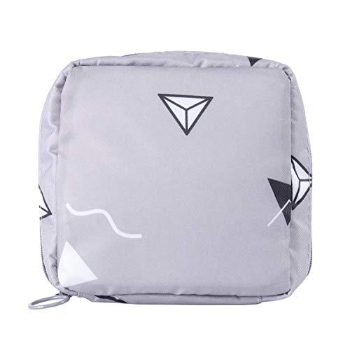 TOPBATHY Damenbinde Pad Aufbewahrungstasche Damenbinde Organizer Tasche Handtaschenhalter Damenbinde Container für Frauen (Grau)