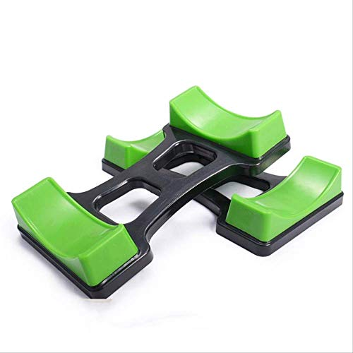 siqiwl Soporte push-up para mancuernas, soporte de estante para mancuernas, un par