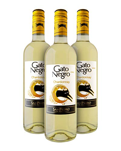 Gato Negro Chardonnay Vino Blanco - Chile - Pack de 3 Bot. 75 cl