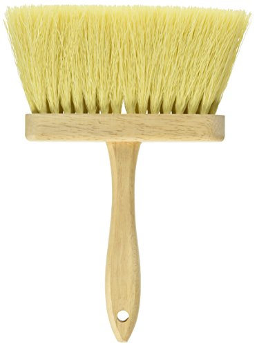 DQB Industries 11943 Dqb Masonry Brush, 6-1/2 in L, Tampico Colored Poly/Synthetic Bristle Trim, 6-1/2In