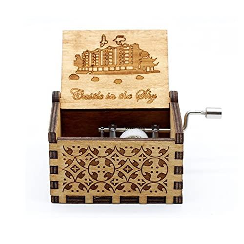Leisont Woodhand Crank Queen's Music Box Bohemian Rhapsody Theme Game of Thrones Beauty Beast Stakes. Castillo en el Cielo.