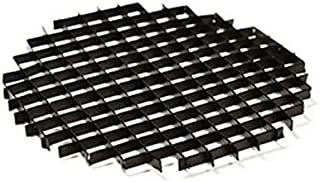 HC Lighting - Honeycomb Lighting Louver for MR16 Halogen or LED Light Bulbs to Help Produce glares and hotspots in Your Spot Lights or Flood Light in Aluminum Black (2 Pack)