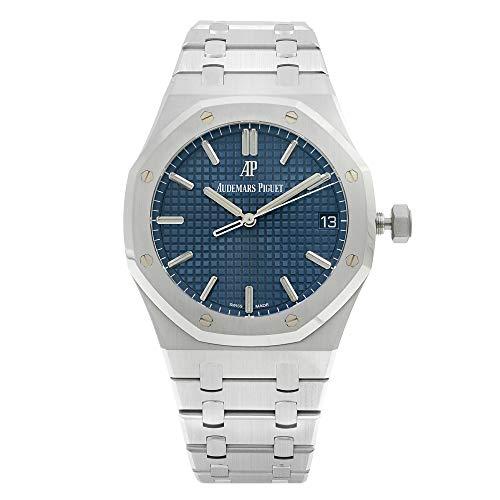Audemars Piguet Royal Oak 15500ST.OO.1220ST.01 - Montre automatique pour homme avec un cadran bleu