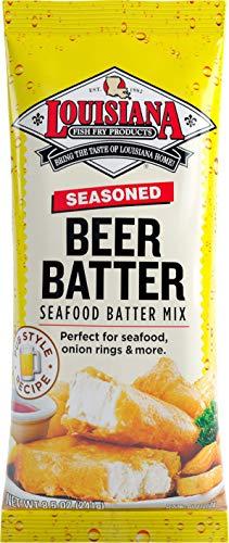 Louisiana Fish Fry, Beer Batter Mix, 8.5 oz (Pack of 4)