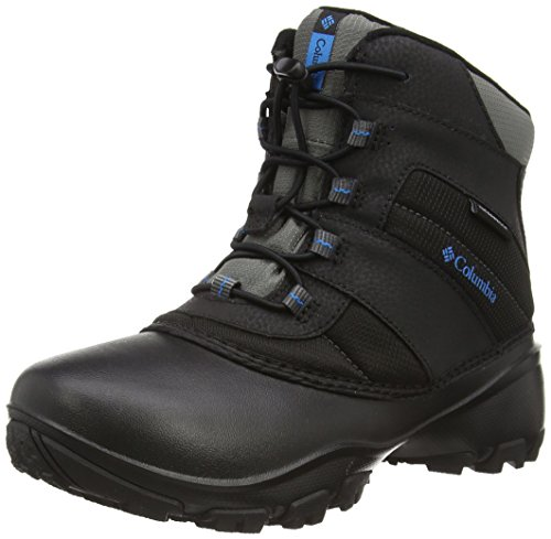 Columbia Childrens Rope Tow I WP Winter Boot (Toddler/Little Kid), Black/Dark Compass, 11 M US Little Kid