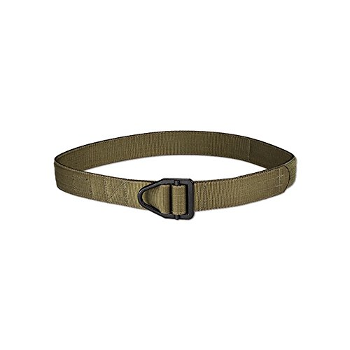 Uncle Mike's Off-Duty and Concealment 2 Layer Nylon Reinforced Instructor's Belt (Large, Black)