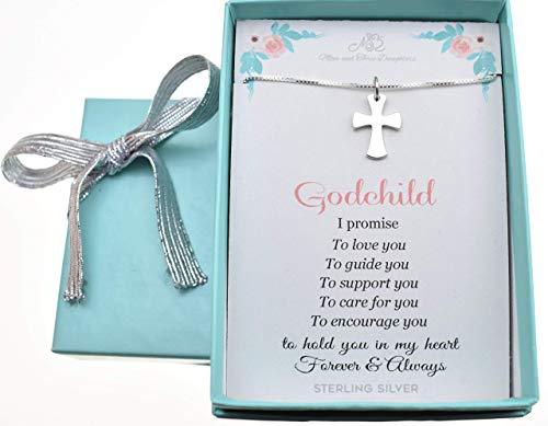 Godchild Baptism Gifts for Boys or Girls. Celtic Cross.