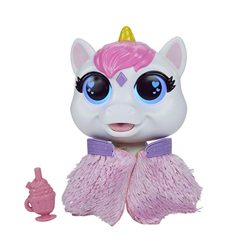 FurReal Airina The Unicorn Color-Change Interactive Feeding Toy, Lights and Sounds, Ages 4 and up