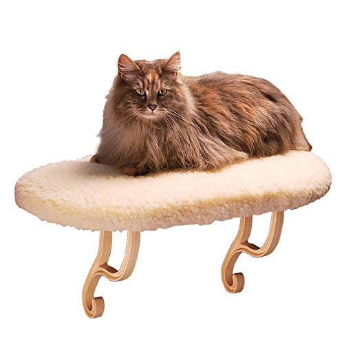 K&H Pet Products Kitty Sill Fleece Unheated - 14 X 24 Inches