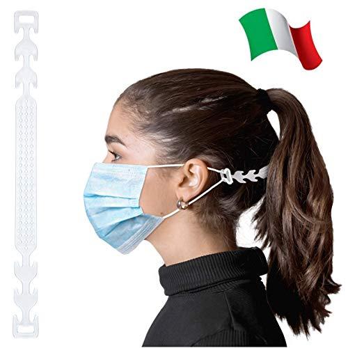 THEVENZ® 5 Stück Ohrenschoner, Maskenhaken Einstellbarer, Maskenhalter für Mundschutz, Verlängerungsriemen für Ohrschutz gegen Ohrenschmerzen und Druck an den Ohren für Kinder und Erwachsene