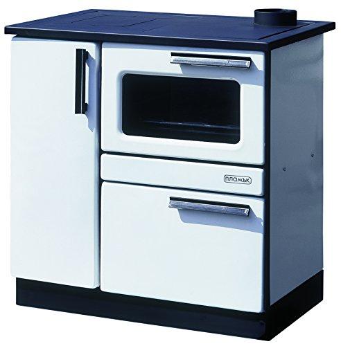 Estufa de cocina de leña para horno 9/15 kW PLAMAK esmalte