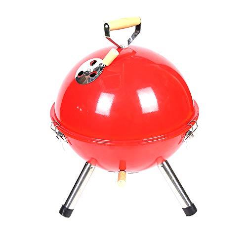 QJJML Barbecue, Kleiner, Kleiner, LäSsiger Runder Wasserkocher
