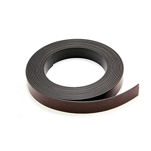 MagFlex® 19mm Breite Flexible Magnetband - Premium Self Adhesive - Selbst Mating (5 Meter Länge)