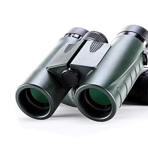 Fernglas - Außen- und Vogelbeobachtungsfernglas - Vollständig mehrfach mit BaK-4-Prismen beschichtet - Gummipanzer - Nebel- und wasserdichtes Fernglas - Top-Pick-Optik-green-12 * 5.3 * 15.3cm