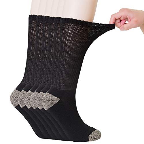 Tobillos hinchados anchos para calcetines