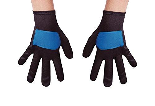 Blue Power Rangers Ninja Steel Child Gloves, One Size