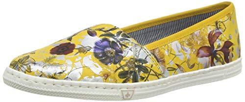 Rieker Damen Frühjahr/Sommer M2772 Sneaker, Gelb (Yellow-Multi 91), 39 EU