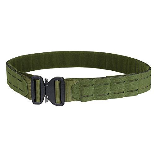 """Condor LCS Cobra Tactical Gun Belt (Olive Drab, Small/Medium: 34.5""""-38.5"""" Long, Waist 30""""-32"""")"""
