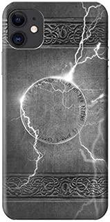 R2533 Thor Thunder Strike Hammer Case Cover for iPhone 11