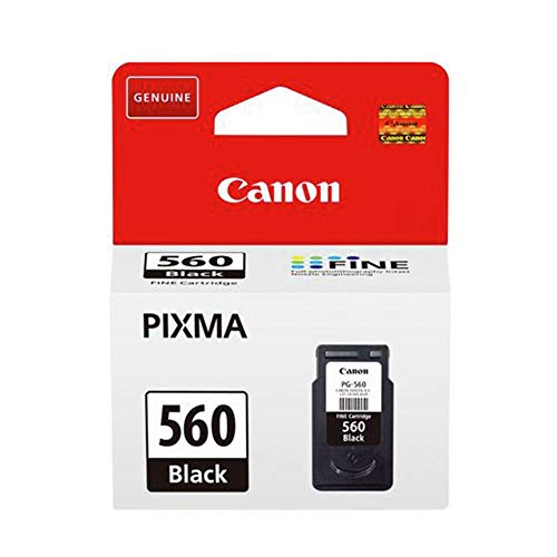 Canon Tintenpatrone PG-560 - schwarz 8 ml - Original für Tintenstrahldrucker