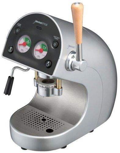 deviceSTYLE Brunopasso ポッド エスプレッソマシン シルバー PD-1-S