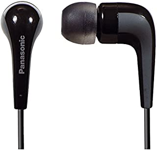 Panasonic RP-HJE140 Negro Intraaural Dentro de oído Auricular - Auriculares (Intraaural, Dentro de oído, Alámbrico, 6-2500...