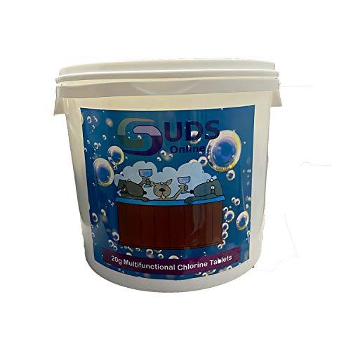 SUDS-ONLINE 5kg Multifunctional Chlorine Tablets 20g Swimming Pool Chemicals