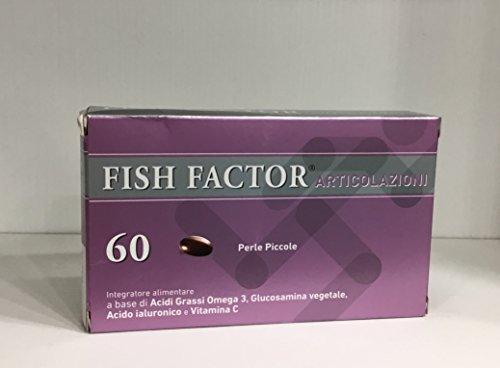 FISH FACTOR ARTICOLAZIONI integratore alimentare a base di omega3 60 perle