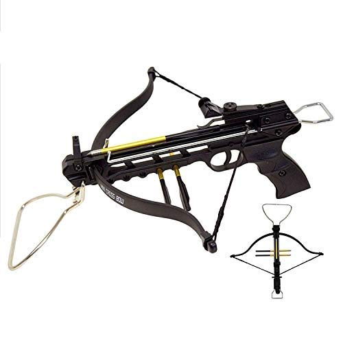 Snake Eye Tactical 80lbs Self Cocking Cobra Crossbow with 15 Arrows (Regular)
