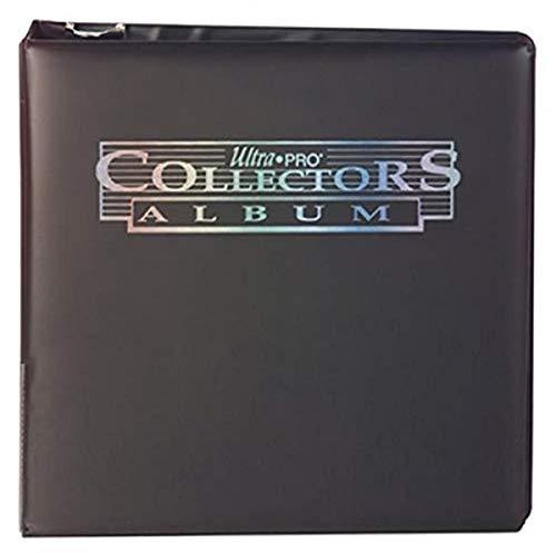 Ultra Pro-E-81406 Álbum 3 Anillas Collector, Color Negro (ALB3COLBL)