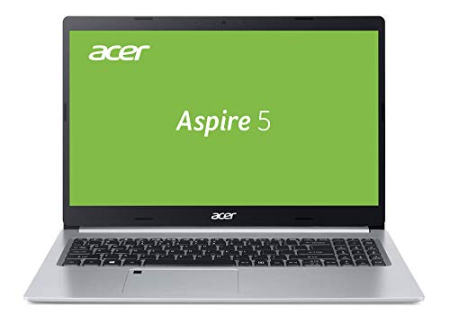 Acer Aspire 5 (A515-55-59E4) 39,62 cm (15,6 Zoll Full-HD IPS matt) Multimedia Laptop (Intel Core i5-1035G1, 8 GB RAM, 256 GB PCIe SSD, Intel UHD, Win 10 Home) silber