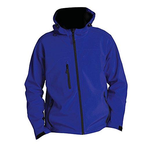 SOLS - Chaqueta/Cazadora Soft Shell con capucha Modelo Replay hombre caballero (3XL/Azul eléctrico)