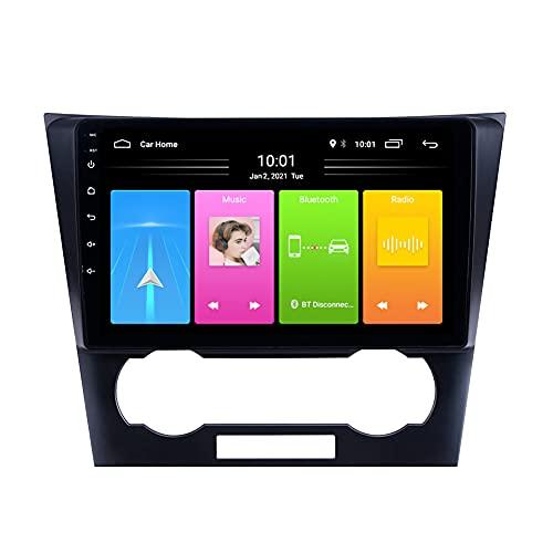 Kilcvt Navegación GPS, 9 in/Android 10 Car Radio Stereo Unit Player, para Chevrolet Epica 2007-2012 Soporte Control del Volante/USB/Dvr/Bluetooth,WiFi 2g+32g