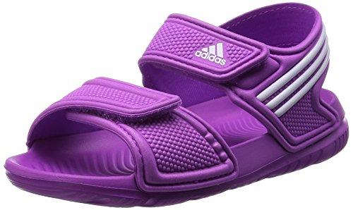 adidas Performance Mädchen Akwah 9 I B40662 Lauflernschuhe, Pink (Flash Pink S15/Ftwr White/FTWR White), 27 EU