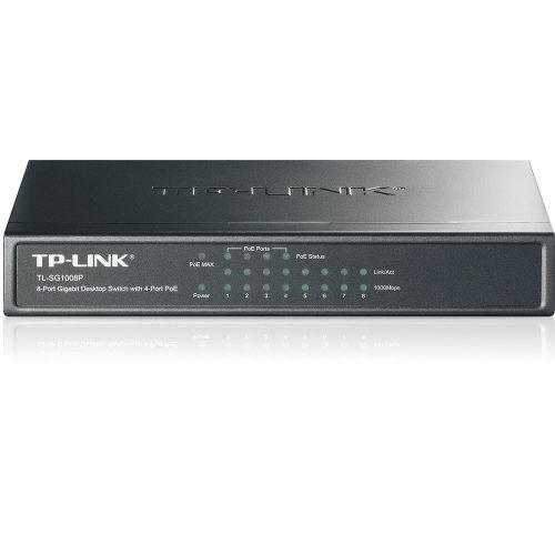 kenable TL SG1008P Gigabit 8 Port Desktop Umschalter Mit 4 Port PoE Built Bei