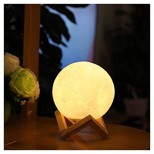QPY Luce Notturna a Led, Bambini Notturna Luce Bambino Luce di Risparmio Energetico Lampada a LED Telecomando Luce Touch Lampada da Comodino, Materiale, schiaffeggiare, 15 cm
