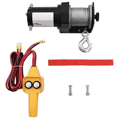 potente para casa VidaXL cable de control remoto para cabrestante cable de control remoto 12V cabrestante eléctrico 907kg