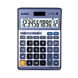 Casio DF120TER Desk Calculator- Silver