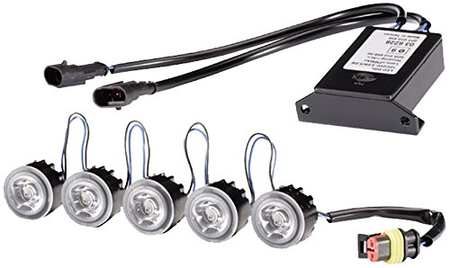 Preisvergleich Produktbild HELLA 2PT 010 458-811 Tagfahrleuchtensatz,  rund - LEDayFlex
