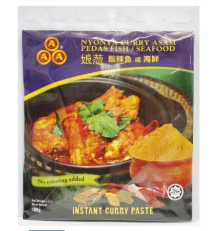AAA Instant Curry Paste (Curry Nyonya) 180 g – authentische Instant Nyonya Curry Paste